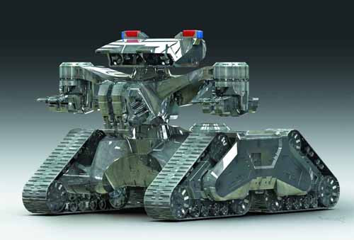 Terminator 2 Hunter Killer Tank 1/32 Scale Model -- NOV132015