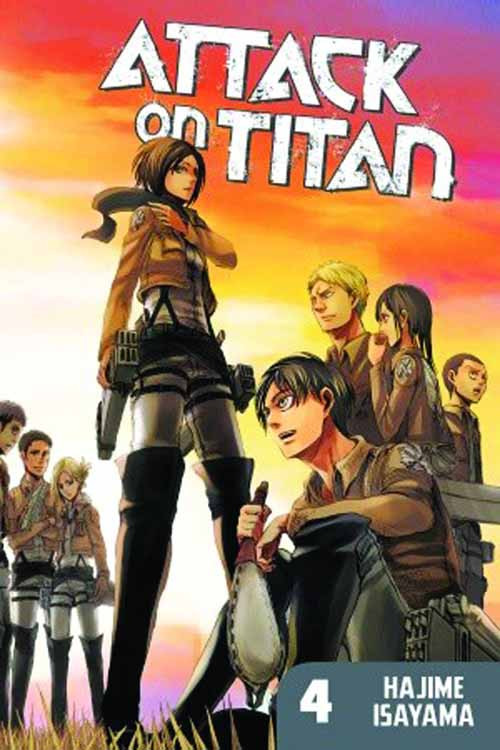 Attack On Titan Graphic Novel GN Vol 04 -- NOV131130