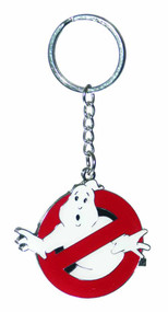 Ghostbusters No Ghost Logo Flat Keychain -- NOV132093