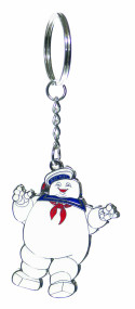 Ghostbusters Stay Puft Flat Keychain -- NOV132095