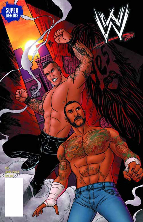 WWE Ongoing #2 -- NOV131198