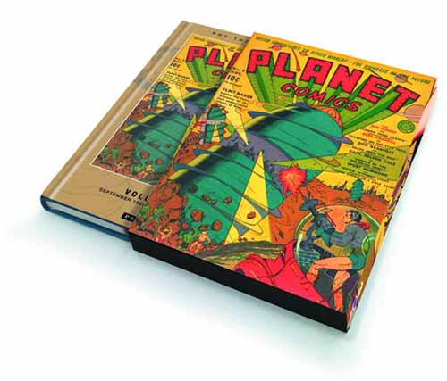 Roy Thomas Presents Planet Comics Slipcase Edition Vol 03 -- NOV131210