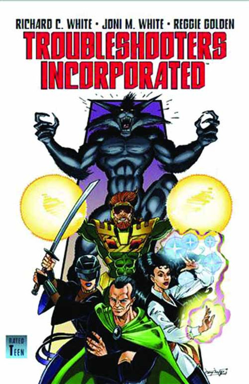 Troubleshooters Incorporated Graphic Nov 01 Night Stalkings -- NOV131233