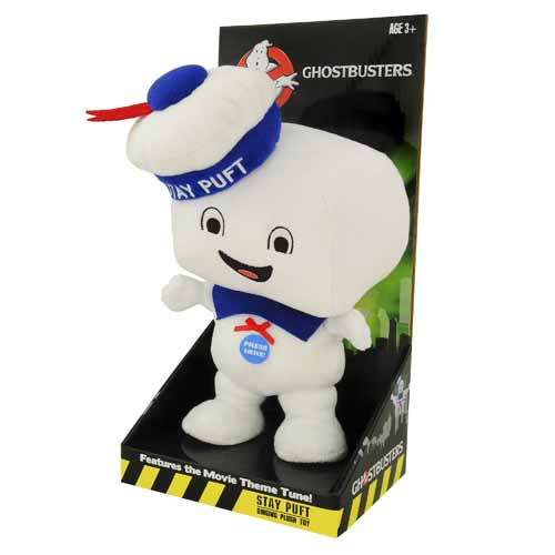 Ghostbusters Stay Puft 8-Piece Singing Plush Assortment -- NOV132102