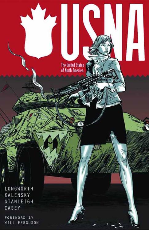 Usna United States Of North America Graphic Novel GN -- NOV131262