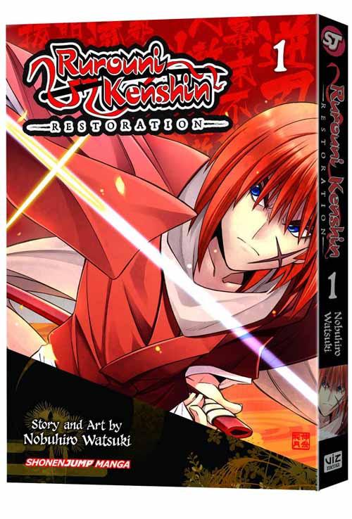Rurouni Kenshin Restoration Graphic Novel GN Vol 01 -- NOV131296