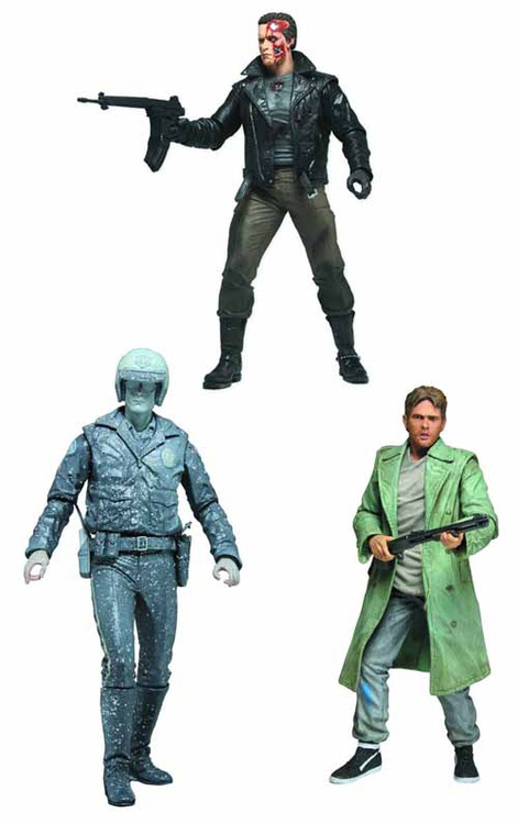 Terminator Collection 7-In Series 3 Action Figure Asst -- OCT121637