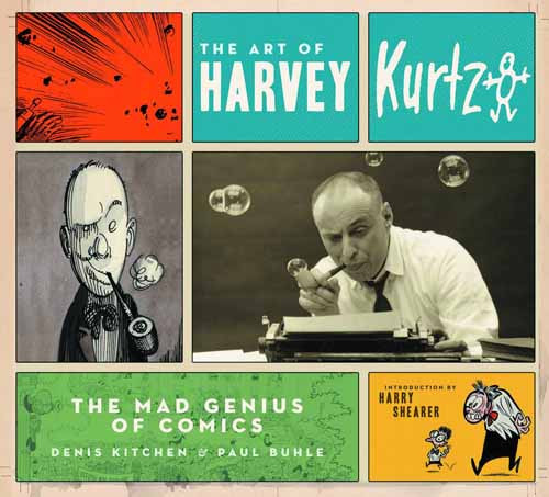 Art Of Harvey Kurtzman HC New Printing -- NOV131372