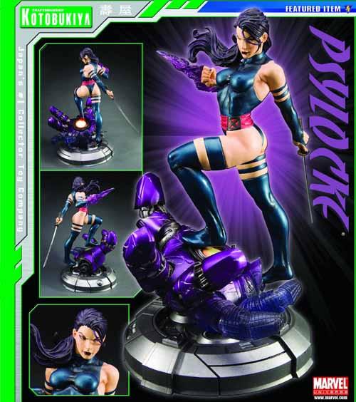 Danger Room Sessions Psylocke Fine Art Statue X-Men -- SEP101560U