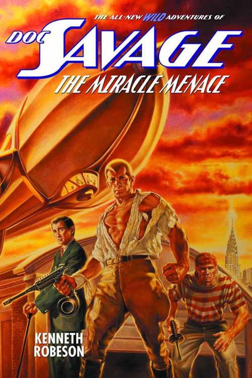 Doc Savage New Adv SC Vol 06 Miracle Menace -- NOV131403