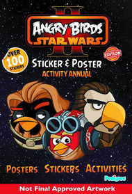 Angry Birds Star Wars II Sticker & Poster Activity Annual -- NOV131408