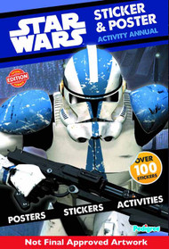 Star Wars Sticker & Poster Activity Annual -- NOV131410