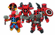 Marvel Minimates Deadpool Assemble Box Set -- Diamond -- NOV131819