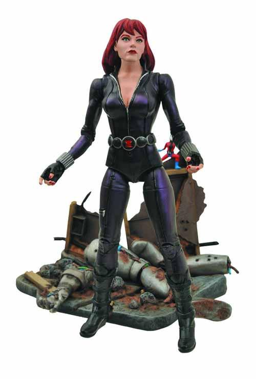 Marvel Select Black Widow Action Figure -- Avengers Diamond -- NOV131820