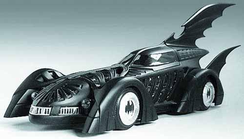 Hot Wheels Elite 95 Batman Forever Batmobile 1/18 Die-cast -- NOV131857