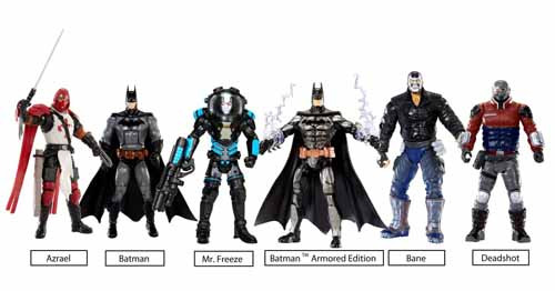 DC Multiverse 4-In Arkham City Mr Freeze Action Figure -- NOV131865