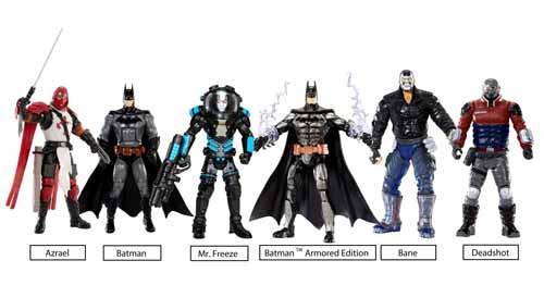 DC Multiverse 4-In Arkham Origins Deadshot Action Figure -- NOV131867