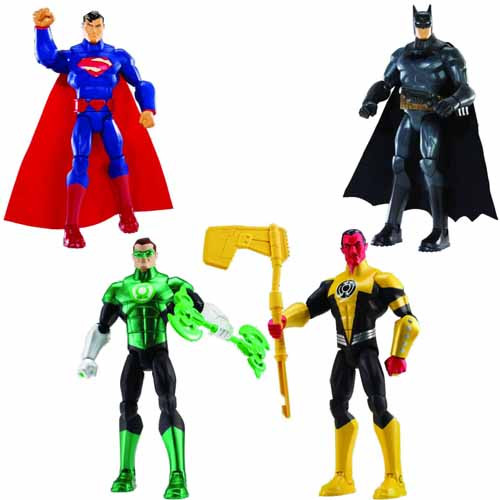 DC Total Heroes 6in Green Lantern Action Figure -- NOV131872