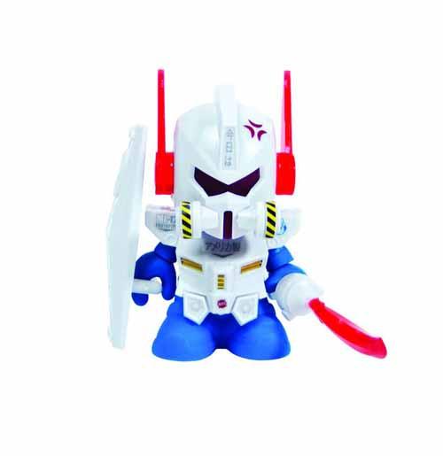 Bot Mini Dam Gun Figure White Edition -- NOV131881