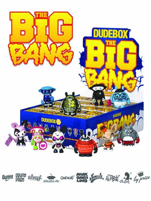 Dudebox Big Bang Mini Figure 20-Piece BMB Display -- NOV131897