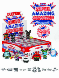 Dudebox Super Amazing Mini Figure 20-Piece BMB Display -- NOV131898
