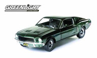 Bullitt 1968 Mustang GT Fastback 1/18 Die-cast -- NOV131941