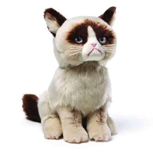 Gund Grumpy Cat 9in Plush -- NOV131950