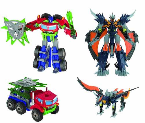 Transformers Prime Beast Hunter Voyager Figure Asst 201306 -- NOV131958