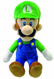 Super Mario Bros Luigi 16in Plush -- Nintendo -- NOV131966