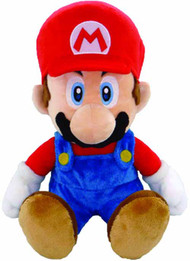 Super Mario Bros Mario 13in Plush -- Nintendo -- NOV131967