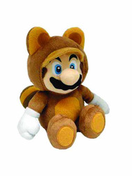 Super Mario Bros Tanooki Mario 12in Plush -- Nintendo -- NOV131968