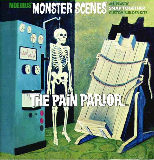 Monster Scenes Pain Parlor Model Kit -- NOV131997