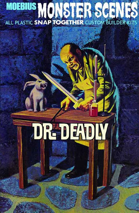 Monster Scenes Dr Deadly Snap Model Kit -- NOV131998
