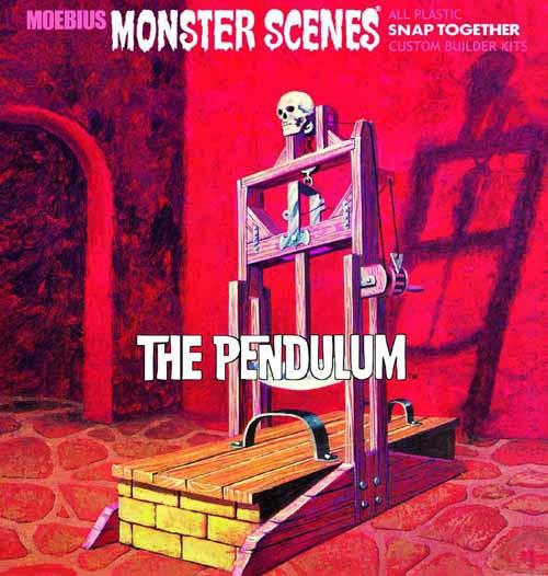Monster Scenes The Pendulum Snap Model Kit -- NOV131999