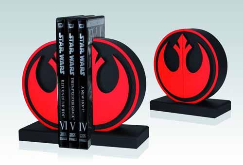 Star Wars Rebel Seal Bookends -- Gentle Giant -- NOV132018