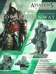 Assassins Creed IV Edward Kenway Resin Statue -- NOV132025