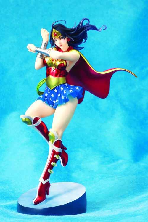 DC Comics Armored Wonder Woman Bishoujo Statue -- NOV132032