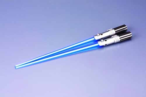 Star Wars Luke Skywalker Light Up Chopsticks -- Kotobukiya -- NOV132036