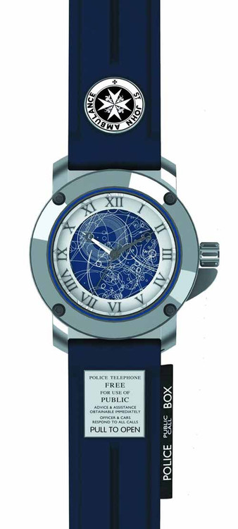 Doctor Who Tardis Collector Watch -- NOV132048