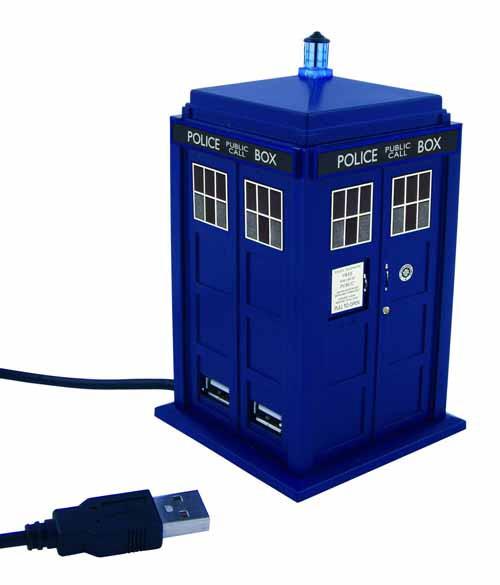 Doctor Who 11th Doctor Tardis USB Hub -- NOV132071