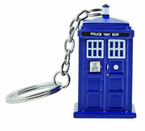 Doctor Who 3d Molded Tardis Keychain -- NOV132072
