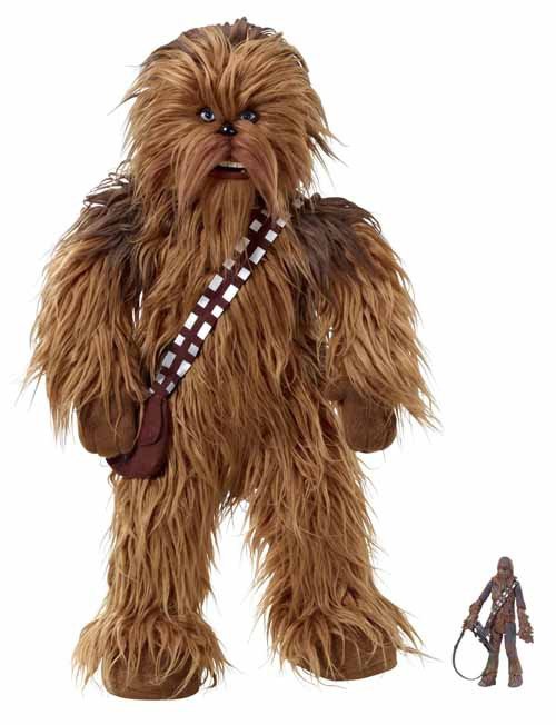 Star Wars Realistic Talking 24in Chewbacca Plush -- NOV132090