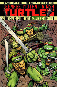 Tmnt Ongoing HC Vol 01 Deluxe Edition -- APR120369