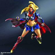 DC Comics Variant Play Arts Kai Supergirl Action Figure -- NOV132132