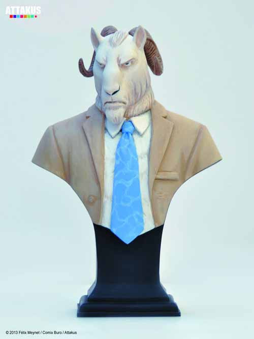 Blacksad Thomas Lachapelle Mini Bust -- Attakus -- NOV132141