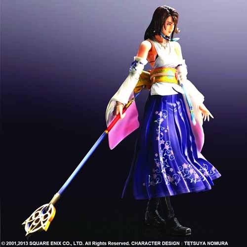Final Fantasy X Play Arts Kai Yuna Figure -- Square Enix -- NOV132146