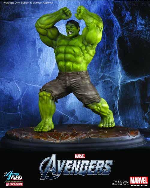 Avengers Hulk Action Hero Vignette -- Avengers -- NOV132154