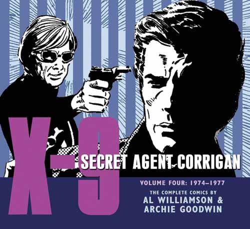 X-9 Secret Agent Corrigan HC Vol 04 -- APR120404