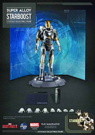 Iron Man 3 Starboost Super Alloy 1/4 Scale Figure--Avengers -- NOV132159