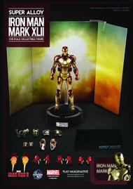 Iron Man 3 Iron Man Mark 42 Super Alloy 1/12 Scale Figure -- NOV132160